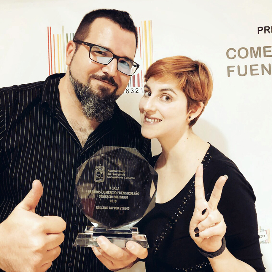 Rolling Tattoo, Premio al Comercio de Fuengirola 2018