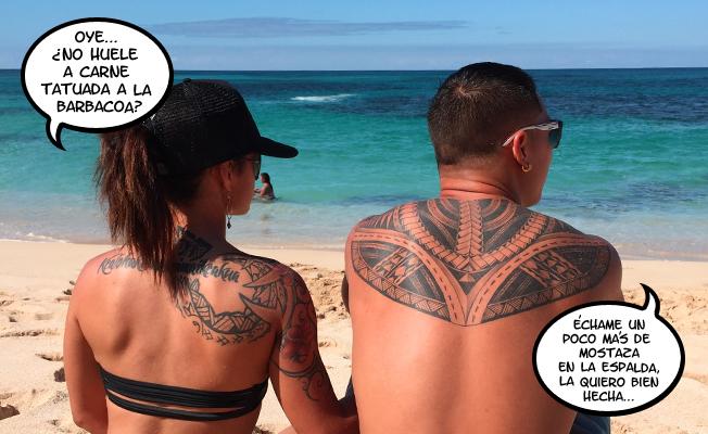 Tatuaje recién hecho ¿Cuándo podré tomar el sol?